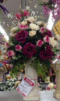 Floral arrangement designed by Danielle Abaire - AC Moore Store#121 -Dedham Ma