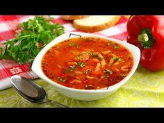 Zupa Cygańska   Smaczne-Przepisy.TV - YouTube Menu, Cooking, Ethnic Recipes, Sissi, Food, 3, Youtube, Menu Board Design, Kitchen