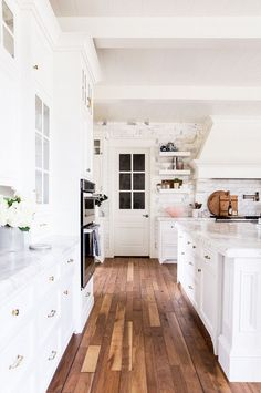 """""""The biggest challenge when designing the kitchen was creating a space that was both beautiful and functional,"""" said Parcell. """"Since it's a kitchen, it has to be working and functional, but it was..."""
