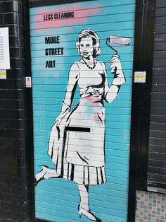 Shoreditch, street art, April 2015