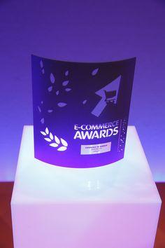 """E-commerce Award dans la catégorie """"Expérience de Marque"""" remporté par @mailinblack_fr #ECP13 #Awards"""