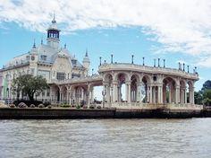 """""""""""Tigre Hotel"""""""" hoy Museo de Arte Decorativo, hermosa vista desde el rio"""