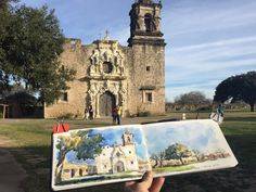 Drawing Perspectives: Three Afternoon Sketches in Texas