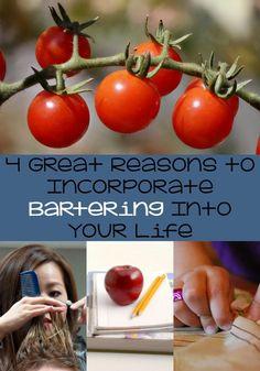 4 reasons for barter