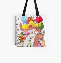 Begeisterung durch Grafik und Illustration, design und mehr.. Afro, Chimpanzee, Flower Power, Illustration, Diaper Bag, Reusable Tote Bags, Black Mask, Wall Art, Design