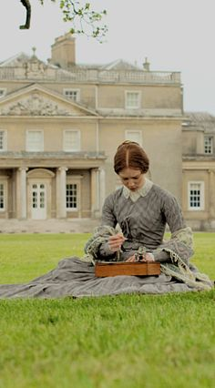 Mia Wasikowska (Jane Eyre) - Jane Eyre directed by Cary Fukunaga Jane Eyre 2011, Toby Stephens, Bronte Sisters, Mia Wasikowska, Literary Characters, Charlotte Bronte, Classic Literature, Pride And Prejudice, Period Dramas