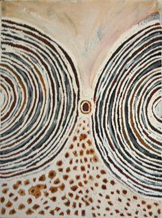 Lloyd Kwilla ~ Bushfire Series - Kulyayi Waterhole, 2008