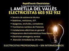Electricistas L'AMETLLA DEL VALLÈS 603 932 932 Baratos