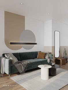 Small Room Design, Home Room Design, Living Room Designs, Modern Master Bedroom, Master Bedroom Design, Modern Interior, Interior Architecture, Neoclassical Interior Design, Bed Headboard Design