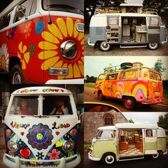 Think all of us have dreamed of having a groovy vintage VW Camper at some point... right? We're still on the lookout for one!