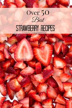 Best Strawberry Recipes - you need this list to enjoy strawberries this season! - For my strawberry obsession. Fruit Recipes, Summer Recipes, Dessert Recipes, Cooking Recipes, Strawberry Desserts, Strawberry Ideas, Strawberry Picking, Strawberry Fields, Delicious Desserts