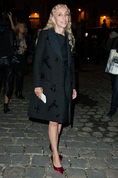Franca Sozzani Photo - Lanvin: Arrivals - Paris Fashion Week Womenswear Spring / Summer 2013