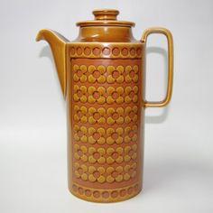 Hornsea Saffron coffee pot, Clappison, perfect 70s retro. £18 including P&P from www.coco-collectables.co.uk