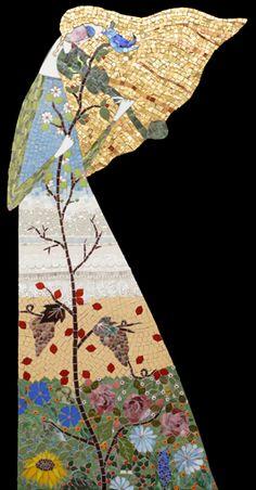"""Four Seasons"" mosaic by Irina Charny"