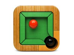 Icon. Snooker-table