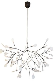 Beautiful chandeliers transform any space. Here's a gorgeous one by Moooi, plus…