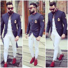 ethnic world ( Indian Wedding Clothes For Men, Wedding Dress Men, Indian Men Fashion, Mens Fashion Wear, Men's Fashion, Mens Traditional Wear, Mens Shirt Pattern, Mens Sherwani, Indian Groom Wear