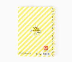 Gudetama Notebook: Stripe