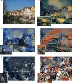 """Neural Style Transfer  Implementation of """"Image Style Transfer Using Convolutional Neural Networks."""""""
