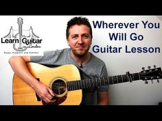 Learn to play Wherever You Will Go by The Calling with this accurate guitar lesson. Full breakdown of the picked intro. (whcih can be tricky for beginners) Y. Wherever You Will Go, Acoustic Guitar Lessons, The Calling, Cool Bands, Youtube, Guitar, Music, Youtubers, Youtube Movies