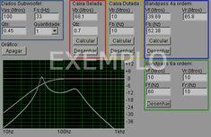Calculando volume de caixas acústicas