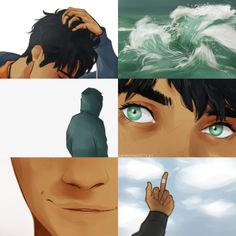 cherryandsisters:  percy jackson aesthetic I've love aesthetic edits and have always wanted to see more for pjo, so I decided to make one on my own, except I drew the entire thing lmao