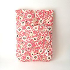 Flower iPad Mini Case with Pocket i Pad Minis 4 3 2 by MadeByJulie