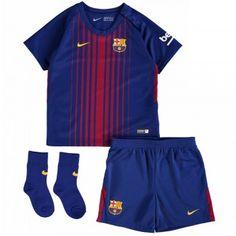 Barcelona Home Nike Baby Kit: Barcelona Home Infants Kit 2017 / 2018 Equipement Football, Soccer Shop, Baby Kit, Fc Barcelona, 18th, Gym Shorts Womens, Sports, Swimwear, Kids
