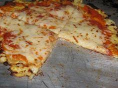 Cauliflower Crust Pizza, gotta try this!