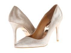 Badgley Mischka Vision Electric Blue Metallic Suede - Zappos.com Free Shipping BOTH Ways