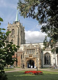 The 15th century cathedral in Chelmsford, Essex, England, UK
