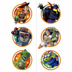 These Toy Story Game Time Tattoos are not for the faint of heart! These fun tattoos feature Woody, Buzz, and all their friend in game time medallions. These tattoos wash off easily, and feature 2 sheets of 6 tatt Toy Story Game, Toy Story Party, Temp Tattoo, Tattoo Set, Buy Toys, Disney Toys, Temporary Tattoos, 3rd Birthday, Paper Dolls