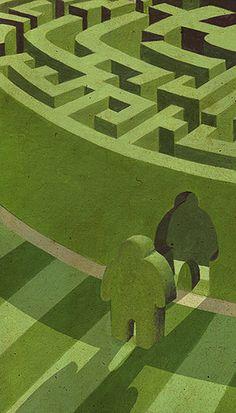 meeshull: Maze - Adam Fisher