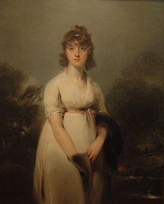 Musée des Beaux-Arts de Lyon - Sir Thomas Lawrence - Miss Sweeting - 1800