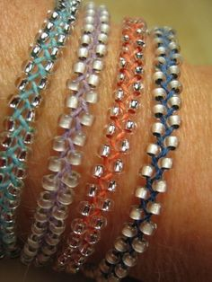 Braid Bracelet Braided, Beaded Bracelets, can use swarovski beads. Black and gold.Braided, Beaded Bracelets, can use swarovski beads. Black and gold. Braided Bracelets, Macrame Bracelets, Friendship Bracelets, Silver Bracelets, Macrame Knots, Paracord Bracelets, Leather Bracelets, Diy Bracelets With Beads, Crochet Beaded Bracelets