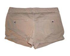 Women's Tan Beige Shorts Summer Fashion Size Large  #Unbranded #CasualShorts