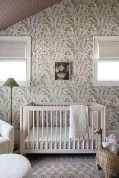 Margot McGee's Nursery Modern Bedroom Design, Nursery Design, Nursery Furniture, Nursery Wall Decor, Nursery Ideas, Whimsical Nursery, Design A Space, Nursery Storage, Studio Mcgee