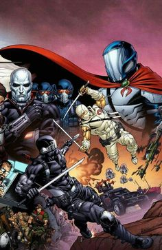 Snake Eyes/Storm Shadow cover This was the final part of a 3 piece joining cover, the other 2 are for the G.Joe and Cobra titles, i've upped the G. Snake Eyes Gi Joe, Cobra Art, Arte Ninja, Arte Nerd, Dc Comics, Cobra Commander, Storm Shadow, Cartoon Shows, Cartoon Art
