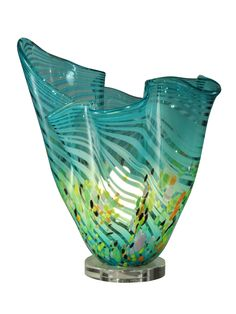 Dale Tiffany Coral Wave Favrile Table Lamp & Reviews | Wayfair