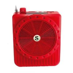 Bocina Portátil Megáfono Radio Fm Usb Micro Sd Auxiliar - $ 199.00