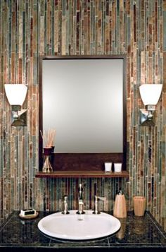 Bathroom Gallery | Inspiration | The Tile ShopCopper Rust Corinth 12 x 12 in