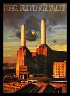 Rock Posters, Band Posters, Roger Water, Arte Pink Floyd, Psychedelic Bands, Battersea Power Station, Art Deco Stil, Music Pics, David Gilmour