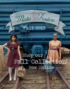 Such a great cover for Mata Traders #fairtrade fall line!