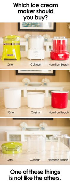Only one of these ice cream makers is not a complete waste of your money! Find out which one it is and how you can get it!