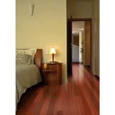 Home Legend Santos Mahogany 3/8 in. T x 5 in. W x Varying Length Click Lock Exotic Hardwood Flooring (26.25 sq. ft. / case)-HL171H - The Home Depot