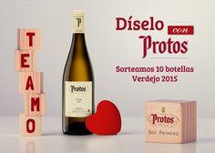 Sorteo de 10 botellas de vino Protos Verdejo por San Valentín #sorteo #concurso http://sorteosconcursos.es/2016/02/sorteo-de-10-botellas-de-vino-protos-verdejo-por-san-valentin/