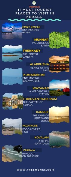 Plan & Book Best Holiday Packages in India. Top Honeymoon Packages in India, Kerala Tourism accredited Kerala Holidays, Houseboats, etc. Amazing Places On Earth, Beautiful Places To Travel, Best Places To Travel, Cool Places To Visit, Travel Destinations In India, India Travel Guide, Travel Tours, Honeymoon Packages In India, Travel Careers