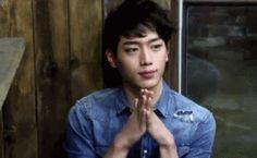 Image de gif, handsome, and seo kang joon