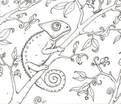 Coloring page to use as cover for this book visual for painting these...