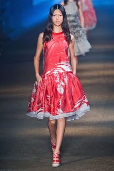 Prabal Gurung drop waist dress